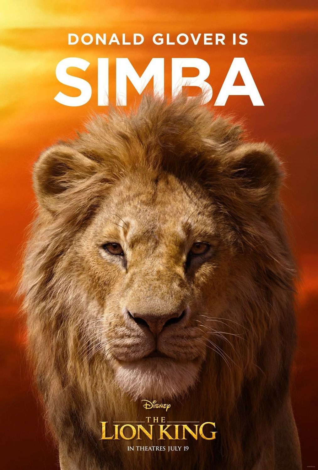 Donald Glover is Simba