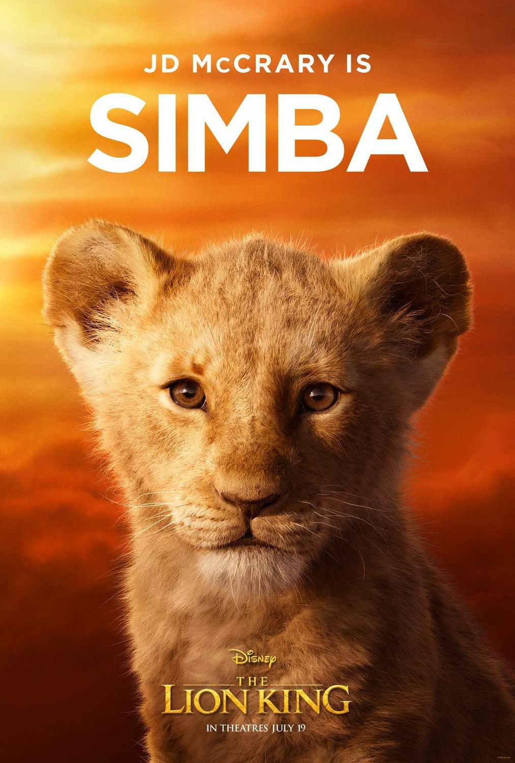 JD McCrary is young Simba