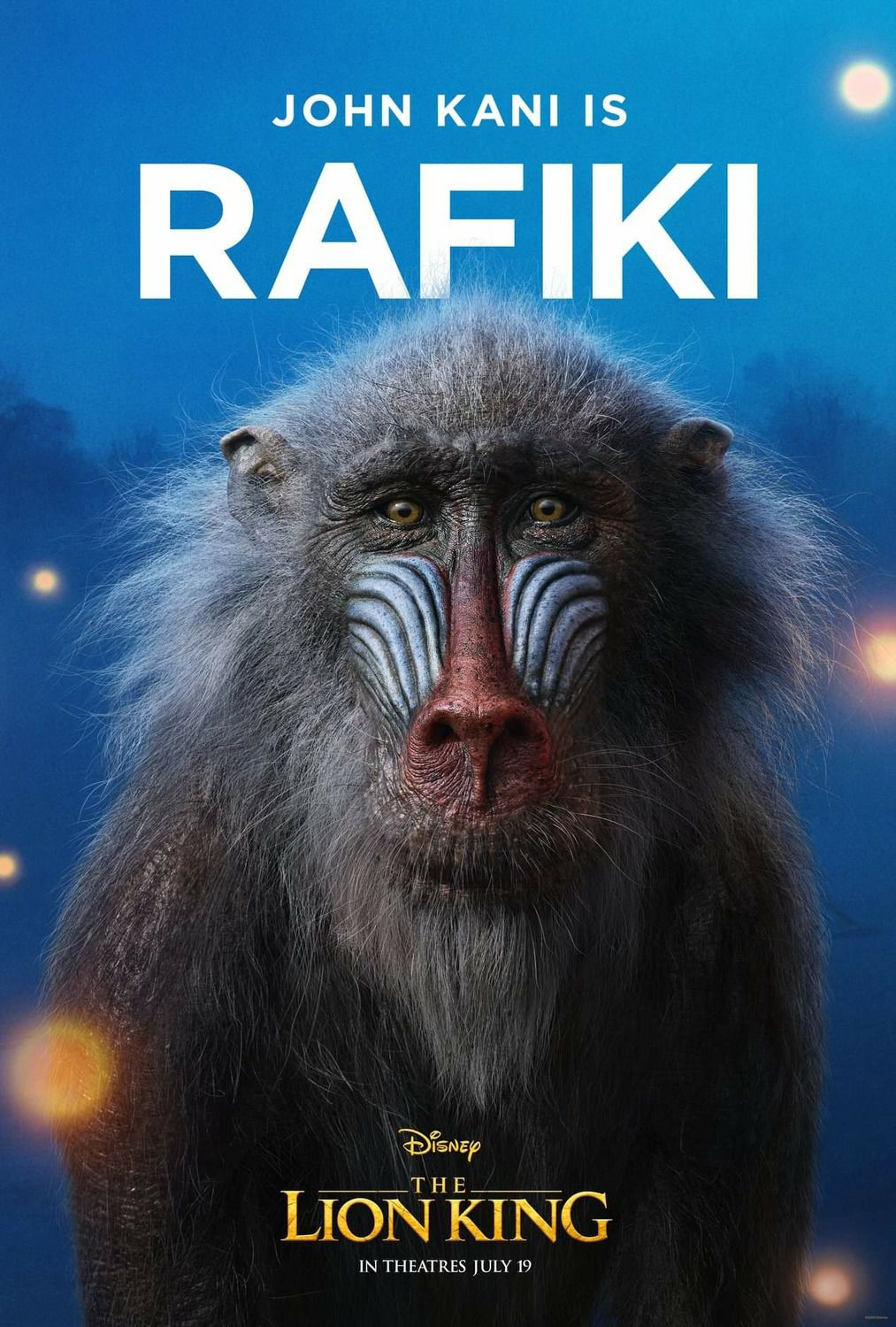 John Kani is Rafiki