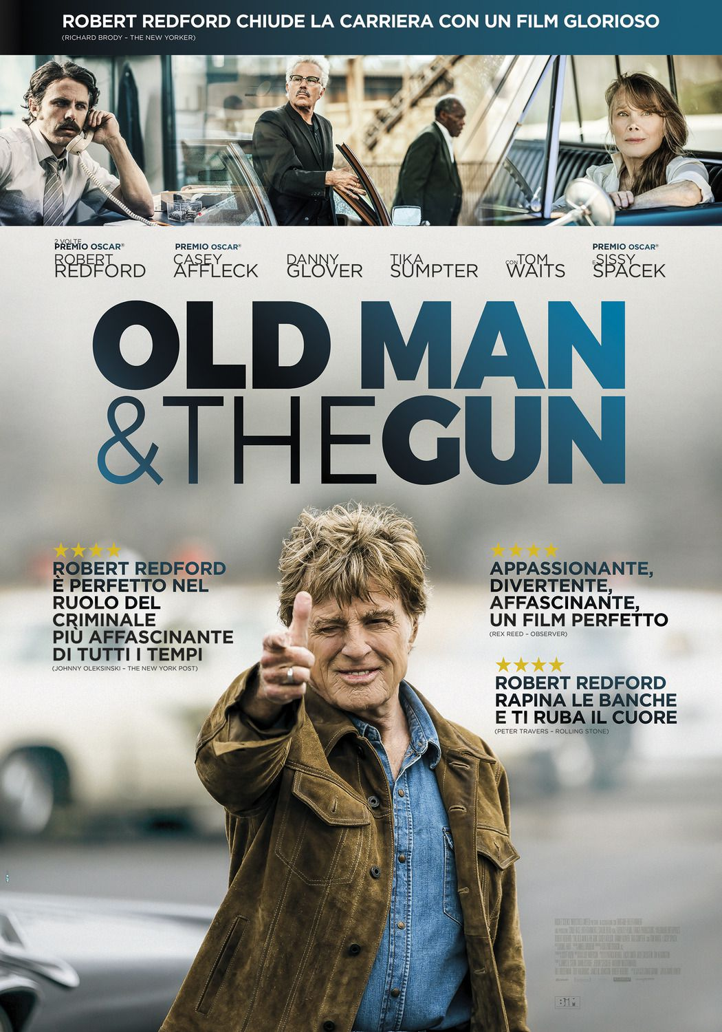 The Old Man and the Gun (2018) - Robert Redford