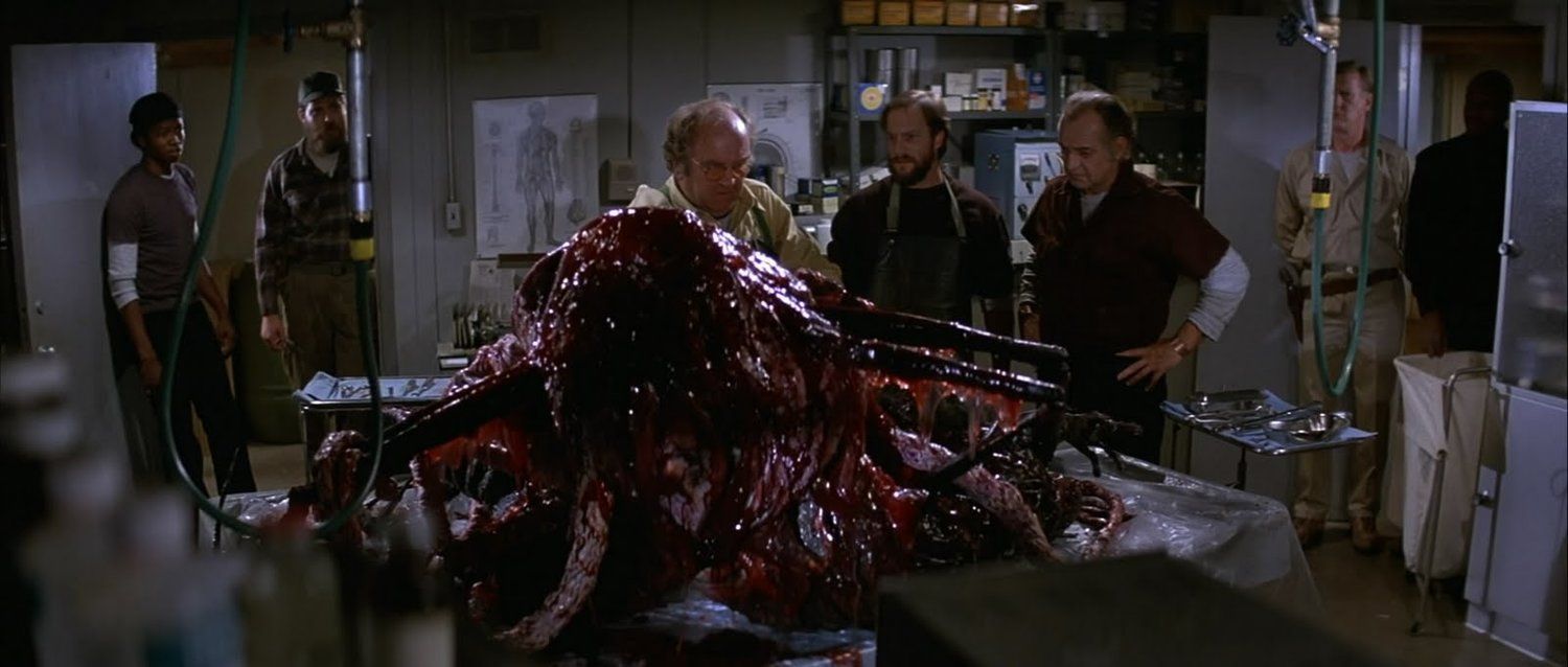 The Thing 1982 scene alien meat