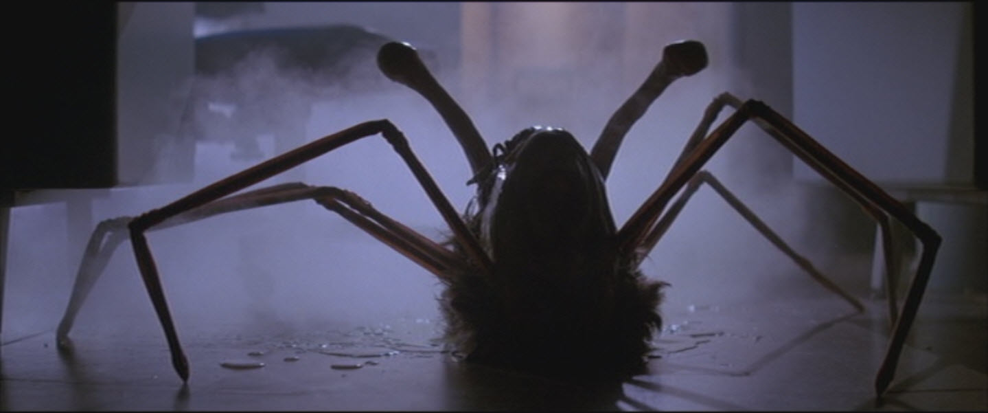 The Thing 1982 scene head spider