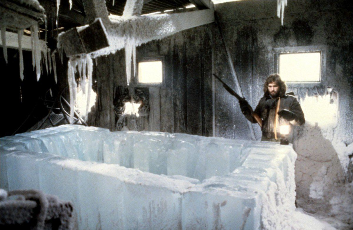 The Thing 1982 scene ice cube