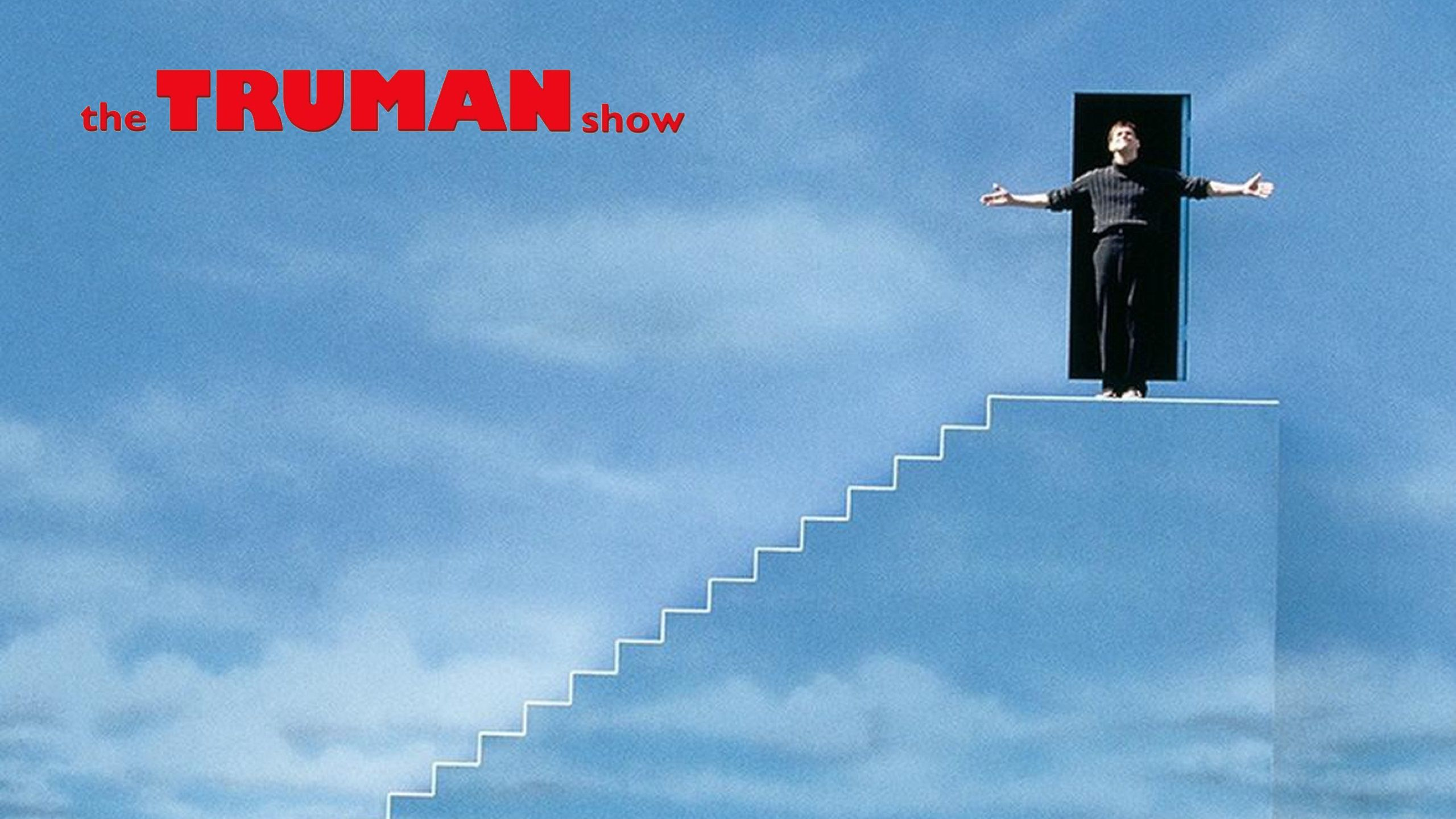 The Truman Show 1998 ending scene with logo