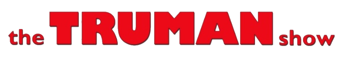 The Truman Show 1998 logo transparent