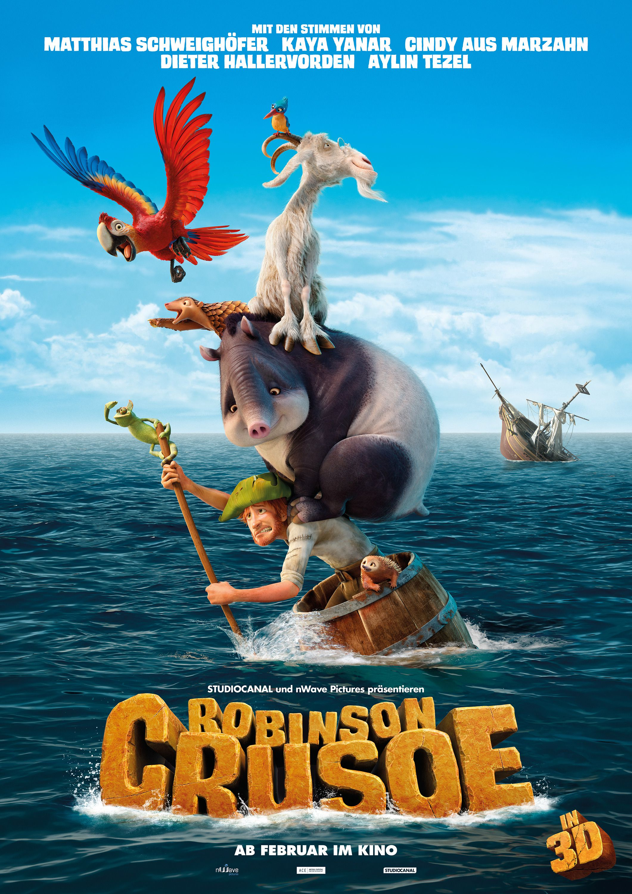 The Wild Life (2016) Robinson Crusoe