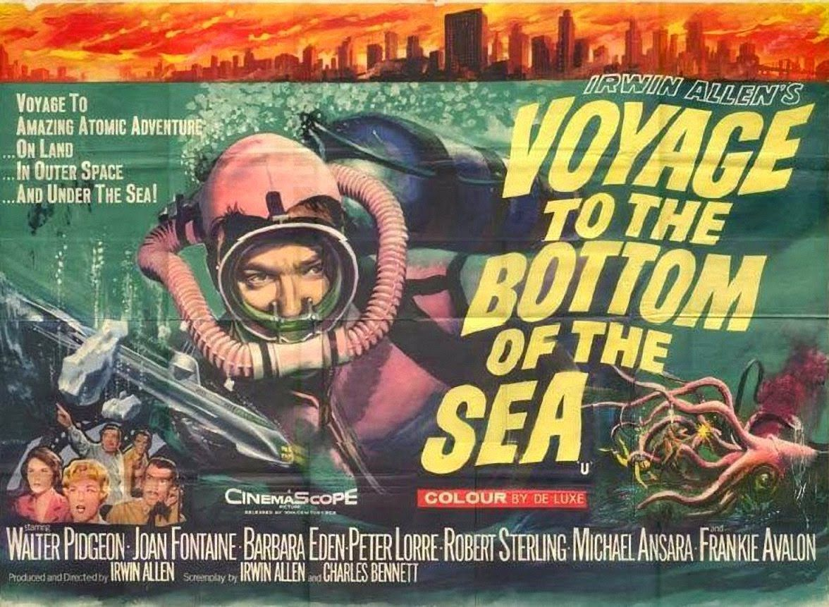 Voyage to the Bottom of the Sea 1961 classic posters collection