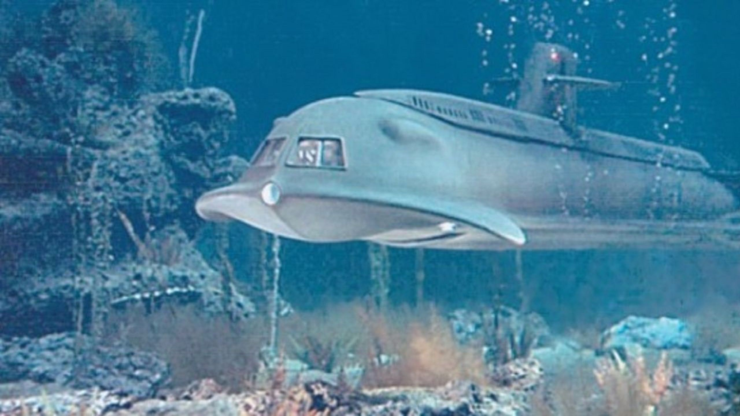 Voyage to the Bottom of the Sea 1961 futuristic submarine