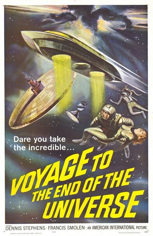 Voyage to the End of the Universe 1964 - poster