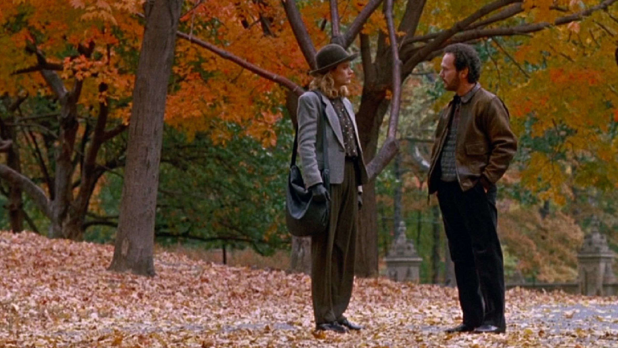 When Harry met Sally 1989 autumn in the Central Park NYC