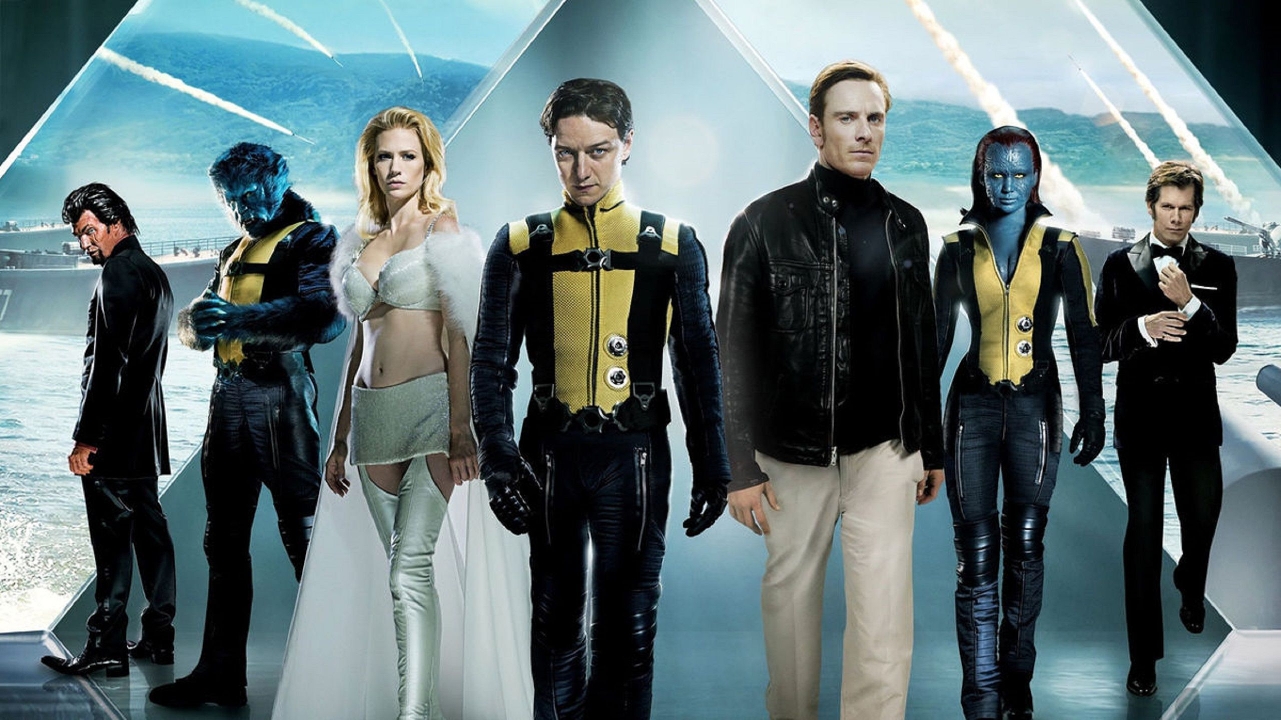 X-Men 5 - L'Inizio - First Class (2011) characters wallpaper