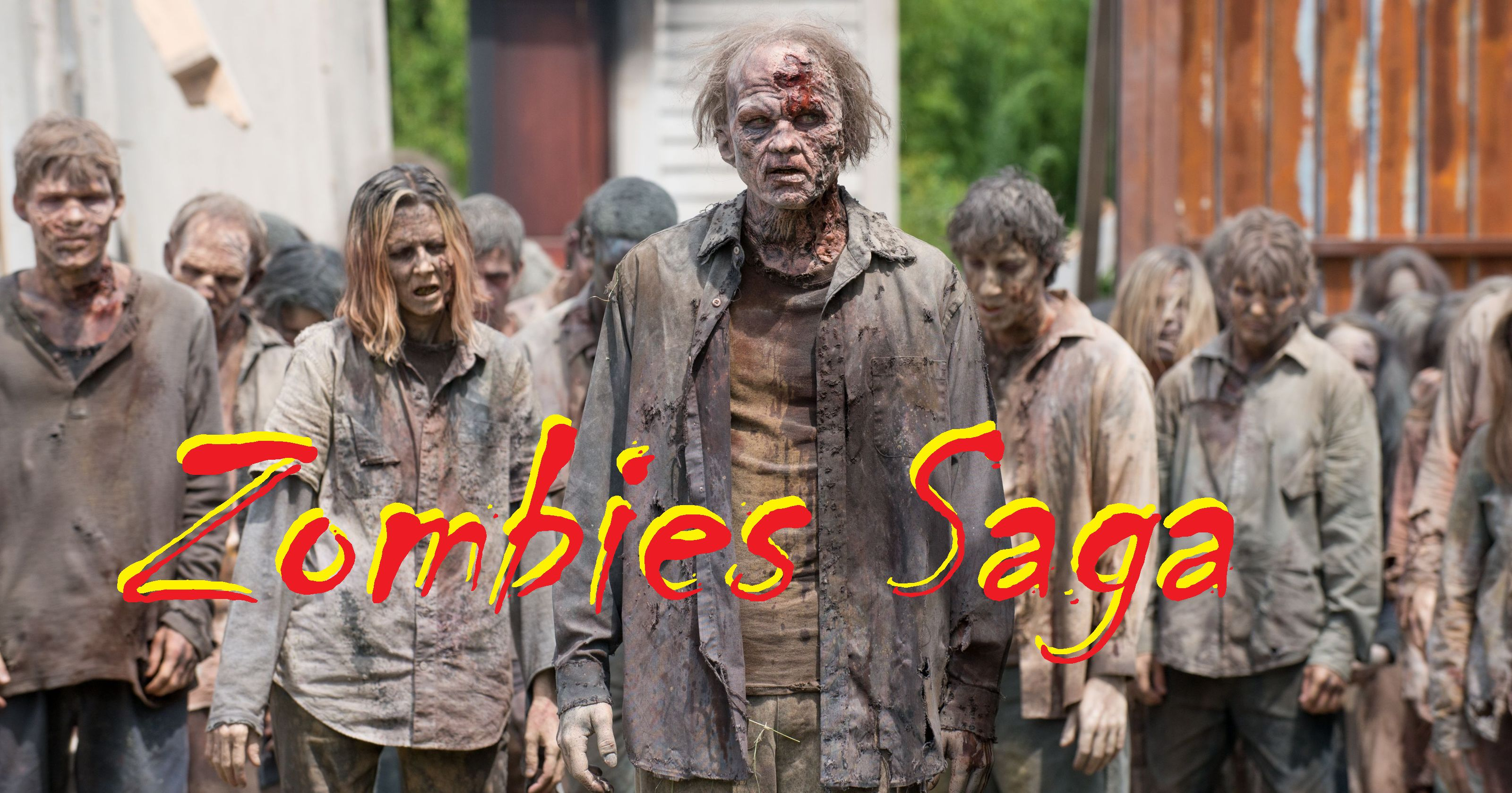 Zombies Saga... all walking dead's horror