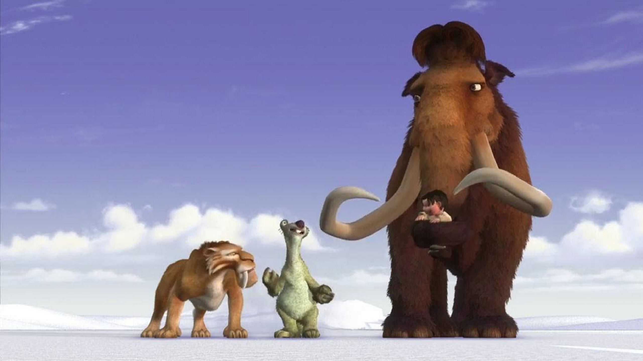 ICE Age first movie 2002 animated funny adventure friends walking