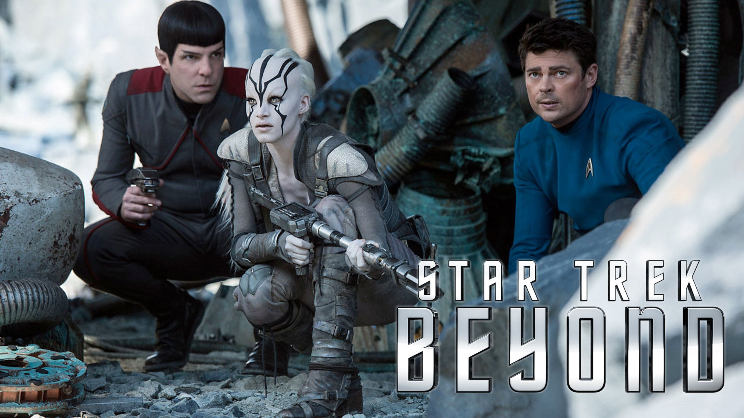 Star Trek 13 - Beyond (2016) banner battle