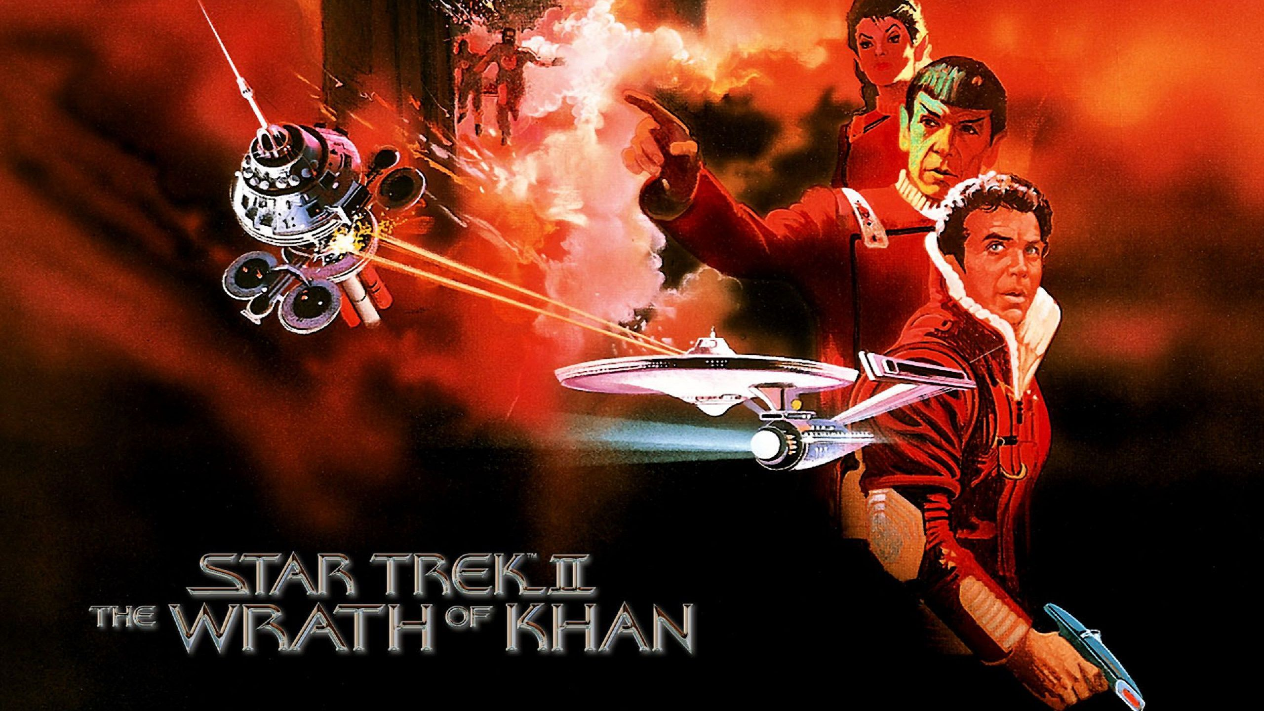 Star Trek 2 - Ira di Khan - Wrath of Khan banner