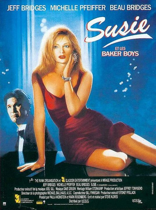Fabulous Baker Boys - Susie - Michelle Pfeiffer - love film posterBaker Boys - Susie - Michelle Pfeiffer - love film poster