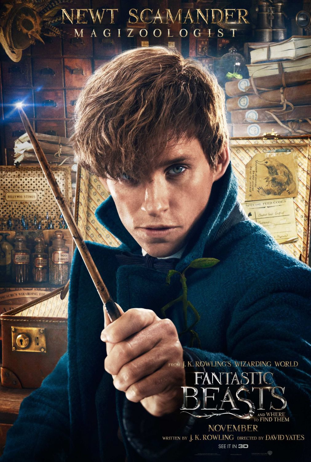 Newt Scamander Magizoologist