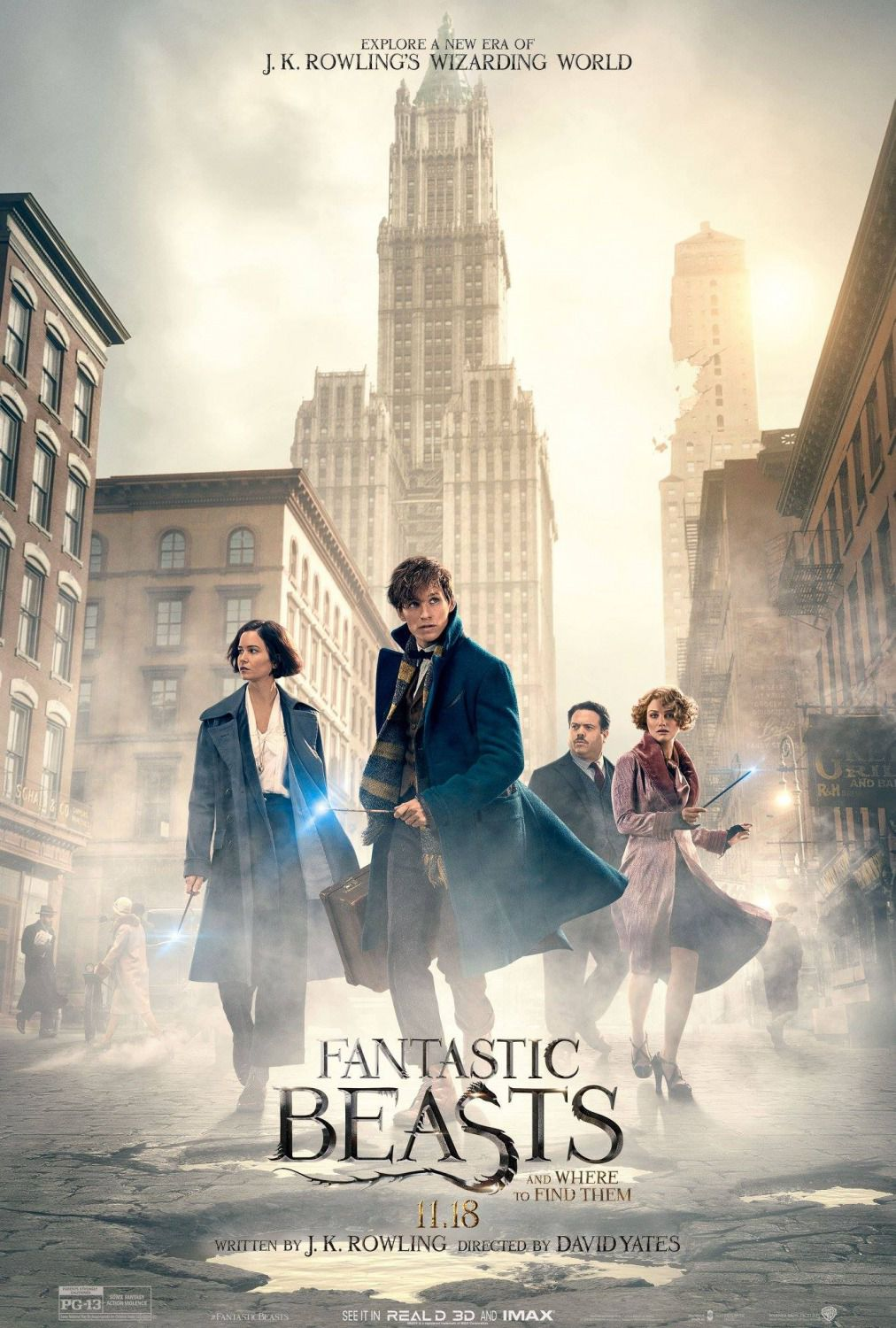 Animali Fantastici e dove trovarli - Fantastic beasts and where to find them (2016)