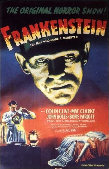 Frankenstein (1931) - classic cult horror monster film 30s