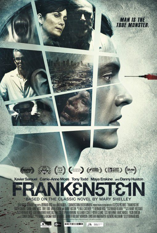 Frankenstein (2015) - horror film poster
