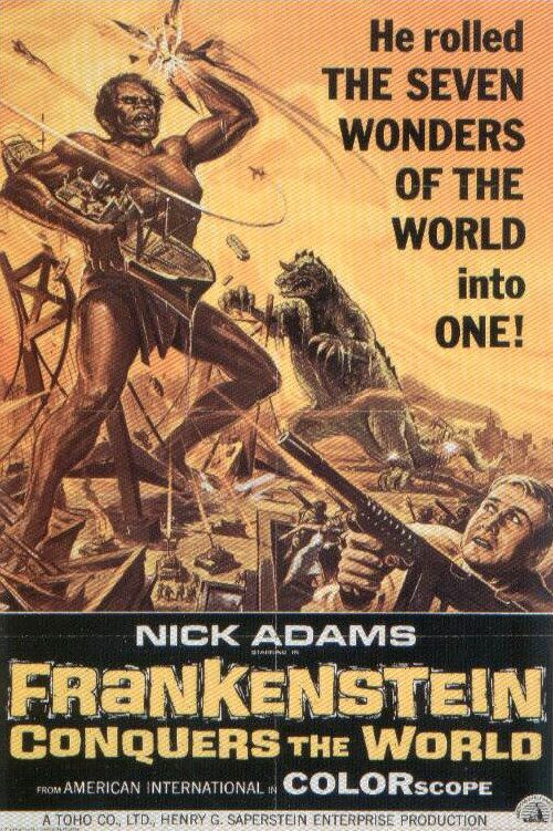 Frankenstein Conquers the World (1966)