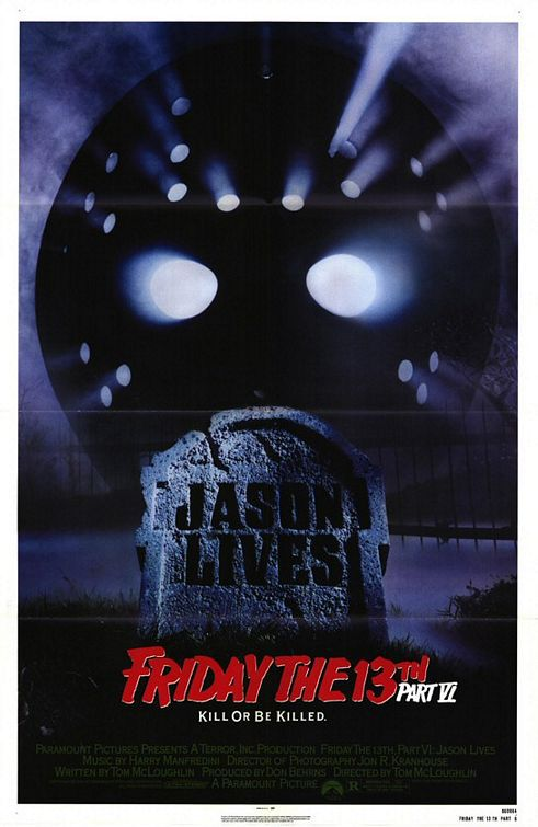 Friday the 13th Part 6 Jason Lives (1986)