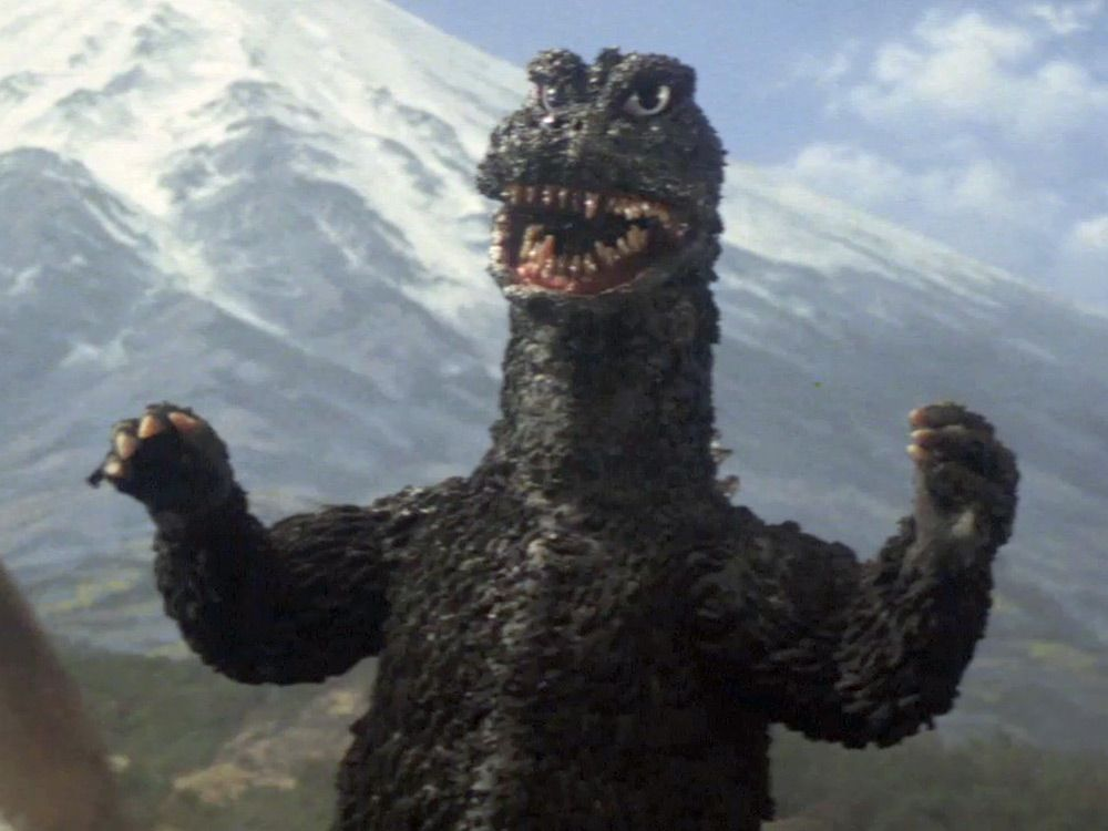 Godzilla 1968 old classic monster