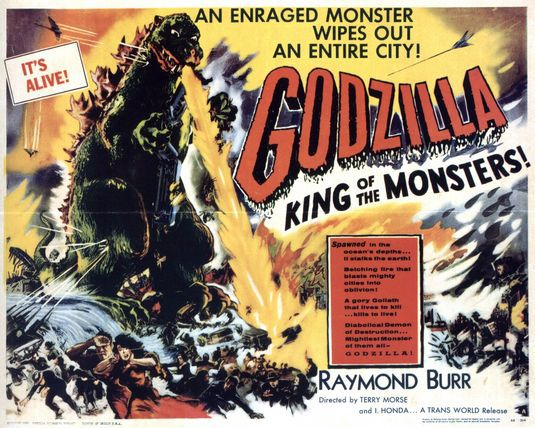 Godzilla King of the Monsters (1956)