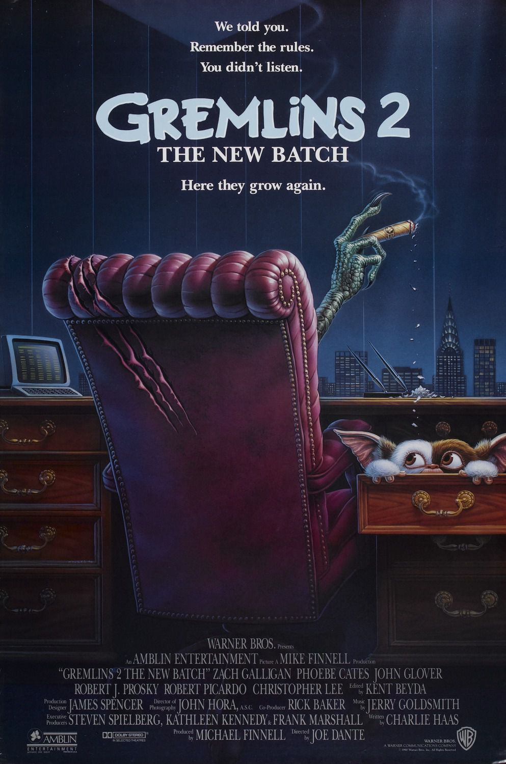 Gremlins 2 the New Batch (1990)