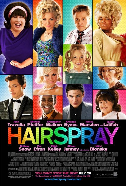 Hairspray - Grasso è Bello (2007) with John Travolta, Michelle Pfeiffer, Zac Efron, Christopher Walken