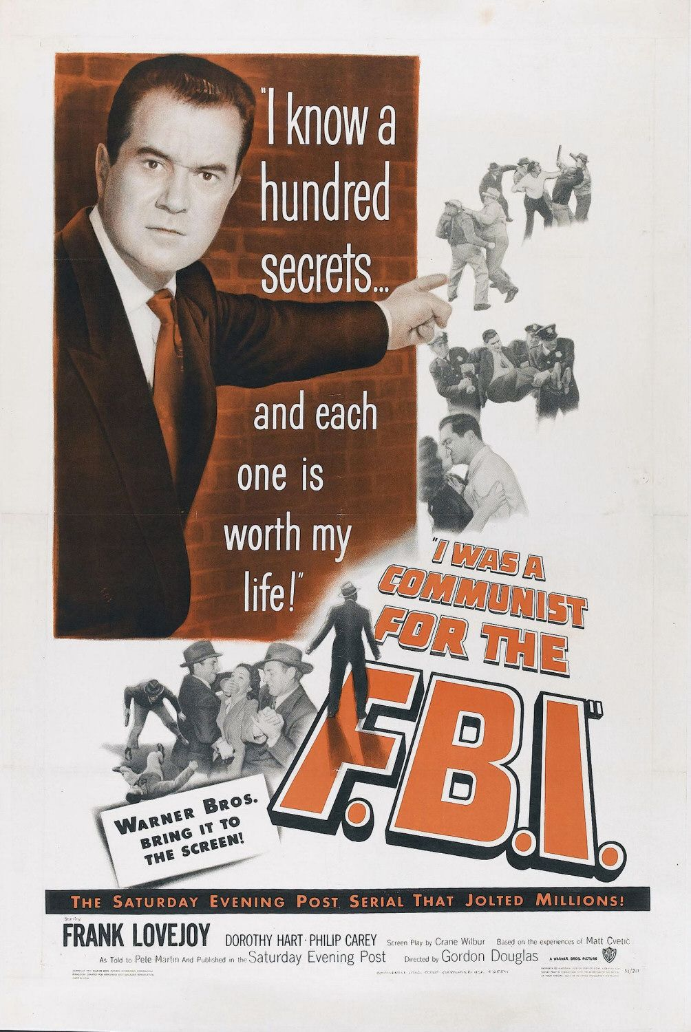 I Was a Communist for the FBI (1951) - film poster