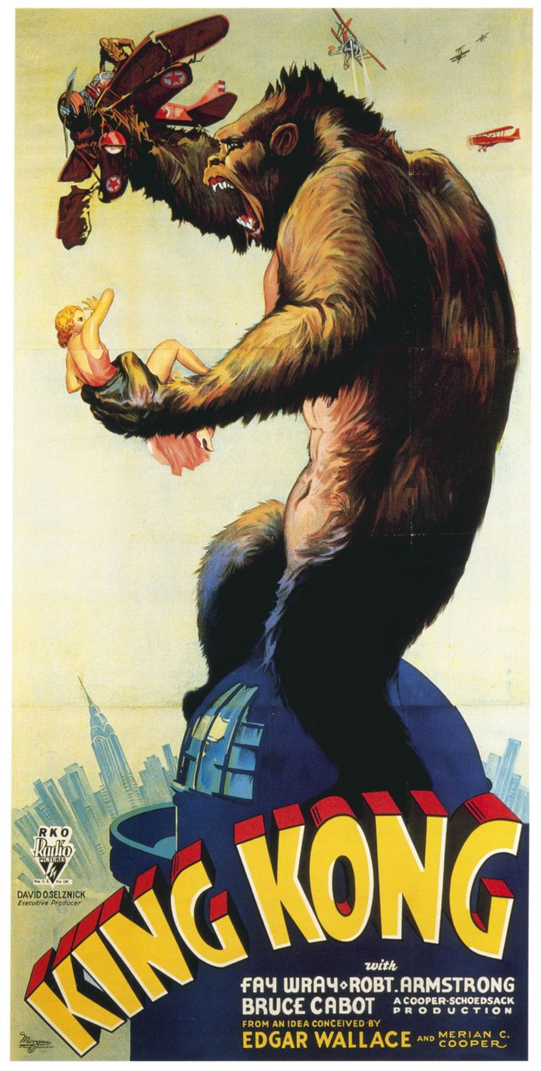 King Kong (1933) - Original poster - New York Observatory