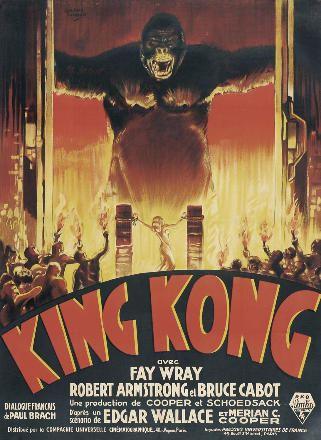 King Kong (1933) - first poster