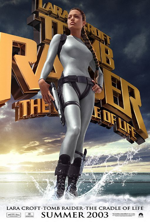 Lara Croft Tomb Raider the Cradle of Life - film poster
