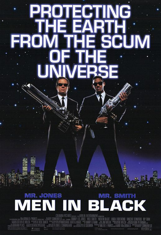 MIB = Men in Black (1997) Mr Jones