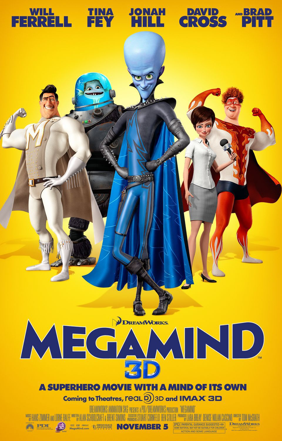 Megamind - posters collection