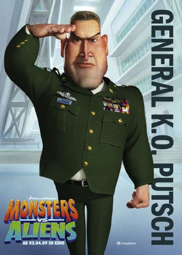 Mostri contro Alieni - Monsters vs Aliens (2009) General K.O. Putsch