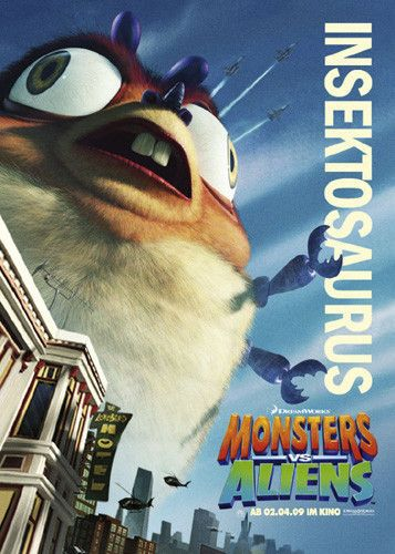 Mostri contro Alieni - Monsters vs Aliens (2009) Insektosaurus - Insettosauro