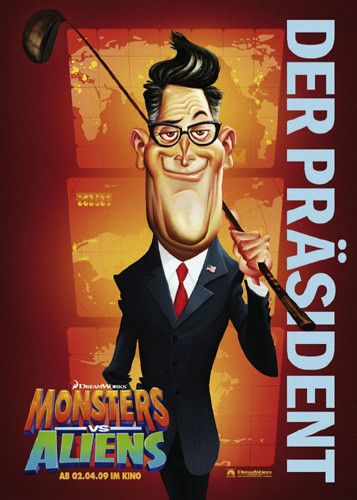 Mostri contro Alieni - Monsters vs Aliens (2009) Prasident