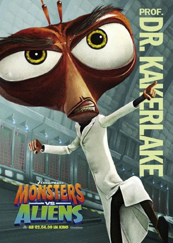 Mostri contro Alieni - Monsters vs Aliens (2009) Kakerlake