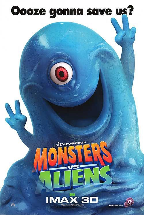 Mostri contro Alieni - Monsters vs Aliens (2009) Bob the Blob 1 eye