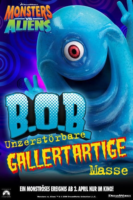 Mostri contro Alieni - Monsters vs Aliens (2009) Bob the Blob - B.O.B. Gallertartige masse