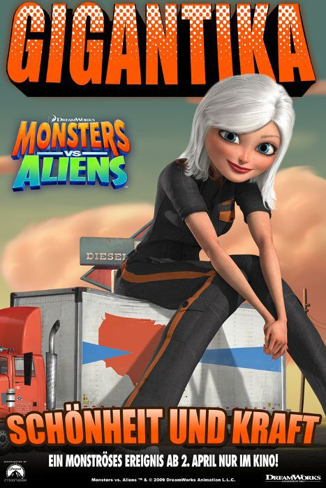 Mostri contro Alieni - Monsters vs Aliens (2009) Gigantika