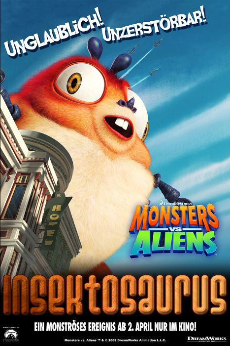 Mostri contro Alieni - Monsters vs Aliens (2009) Insektosaurus