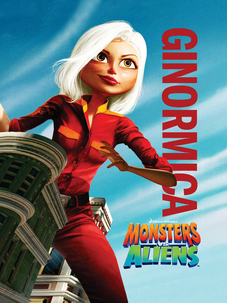 Mostri contro Alieni - Monsters vs Aliens (2009) Ginormica