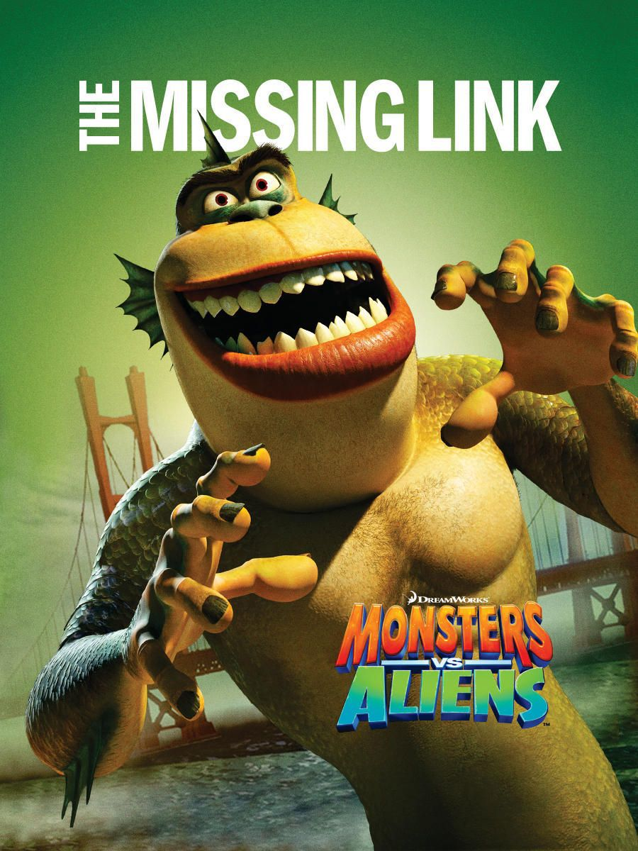 Mostri contro Alieni - Monsters vs Aliens (2009) the missing link