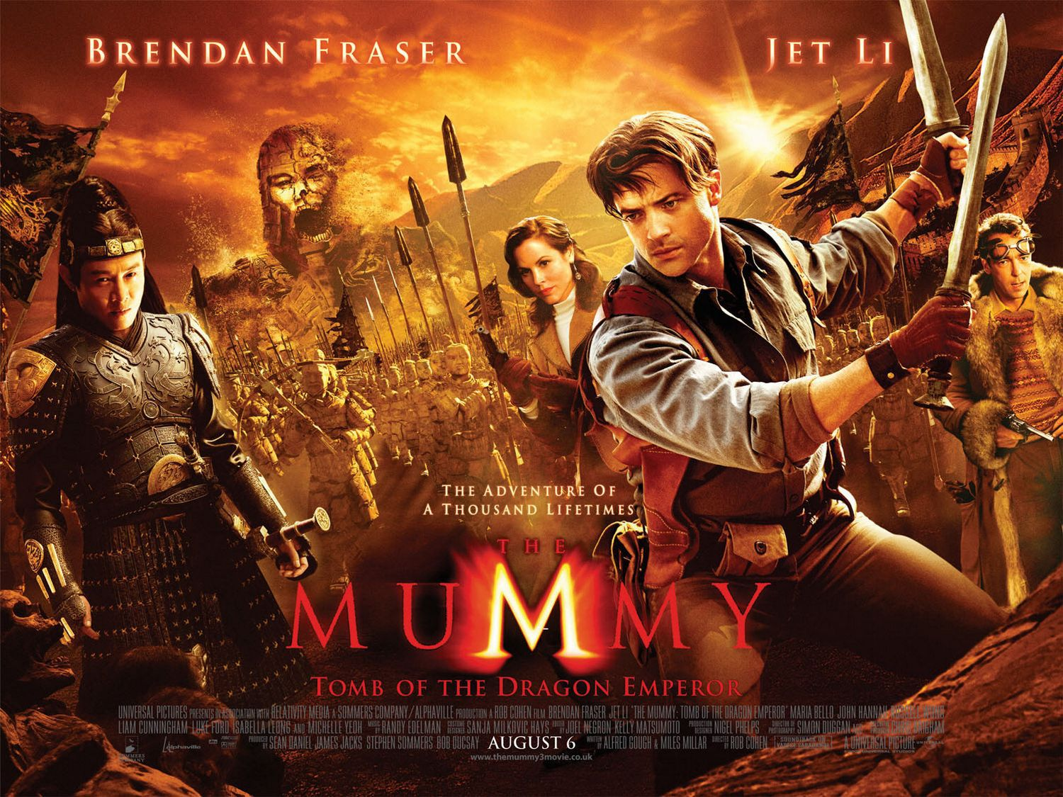 Mummy Tomb of the Dragon Emperor (2008)