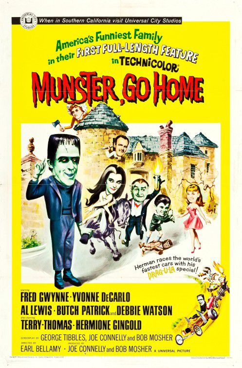 Munster go Home (1966)