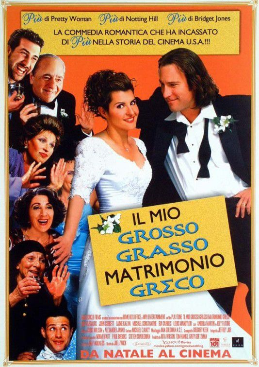 Il mio Grosso Grasso Matrimonio Greco - My Big Fat Greek Wedding (2002)