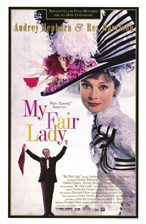 Audrey Hepburn  - My Fair Lady (1964)